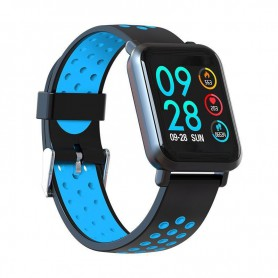 RELOJ SMARTWATCH LEOTEC MULTISPORT HELSE BLUE PANT COLOR IP68 IOS AND LESW14DB