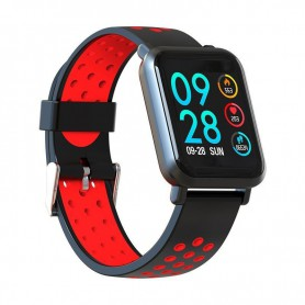 RELOJ SMARTWATCH LEOTEC MULTISPORT HELSE RED PANT COLOR IP68 IOS AND LESW14DR