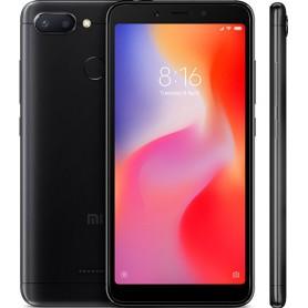 SMARTPHONE XIAOMI REDMI 6 P5.45 OC 3GB 32GB 4G 12MP A8.1 BLACK