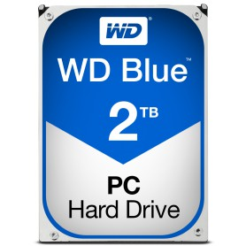 DISCO DURO INTERNO SATA III 2TB WD BLUE 64MB WD20EZRZ