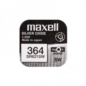 PILA BOTON OXIDO DE PLATA  MAXELL BL.10 1.55V SR0621SW
