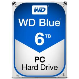 DISCO DURO INTERNO SATA III 6TB WD BLUE 64MB WD60EZRZ