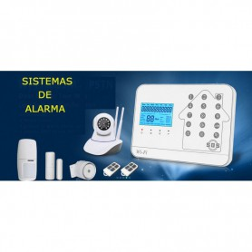 VIGILANCIA KIT CENTRAL ALARMA COMPLETA IVT ANDROID-IPHONE WIFI ALARM99WIFI