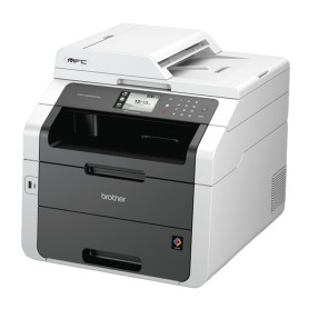 IMPRESORA BROTHER MF LASER COLOR LED SCAN PLANO MFC9340CDW FAX  WIFI