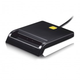 LECTOR TARJETA MEMORIA EXTERNO TOOQ DNIE USB 2.0 NEGRO TQR-210B