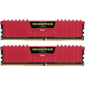 MEMORIA RAM KIT DDR4 16GB(2X8GB) PC4-25600 3200MHZ CORSAIR VENGE ROJA LPX