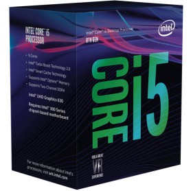 PROCESADOR INTEL CORE I5 8400 2.8GHZ S1151 9MB IN BOX