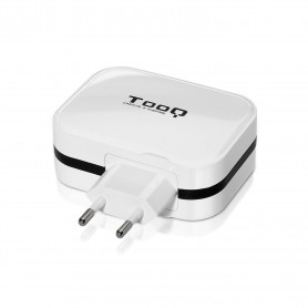 CARGADOR  USB TOOQ PARED  4XUSB 6.8 A(TOTAL) AI-TECH  BLANCO 1S04WT
