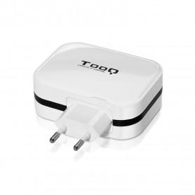 CARGADOR  USB TOOQ PARED  4XUSB 6.8 A(TOTAL) AI-TECH  BLANCO 1S04WT