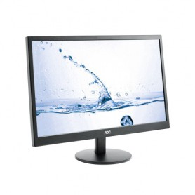 MONITOR 23.6 LED AOC M2470SWH FULL HD 2HDMI VGA NEGRO MULTIMEDIA