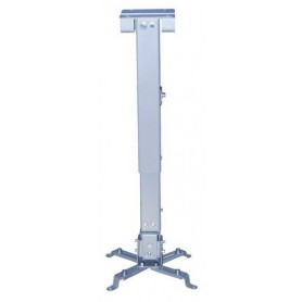 SOPORTE PROYECTOR INCLINABLE TECHO PLATA TOOQ PJ2012T-S