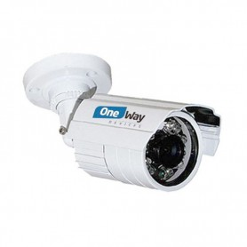 VIGILANCIA CAMARA ONEWAY EXT. 24 LED 720P 3.6MM INFRARROJOS CMOS 14 OW-AQ24H100