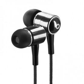 AURICULAR ENERGY EARPHONES URBAN2 BOTON BLACK 422845