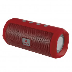ALTAVOCES  NGS  ROLLER TUMBLER RED PORTATIL BLUETOOTH 6W MICRO-SD RADIO FM USB