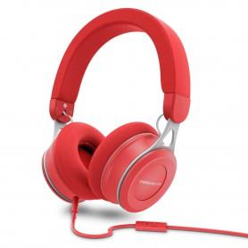 AURICULAR ENERGY HEADPHONES URBAN 3 MIC RED 446902