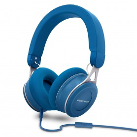 AURICULAR ENERGY HEADPHONES URBAN 3 MIC BLUE 446896
