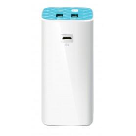 CARGADOR POWERBANK TP-LINK 10400MAH 2USB 5V 1A 5V2A 1MICRO USB TL-PB10400