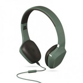 AURICULAR ENERGY HEARPHONES 1 GREEN CONTROL TALK MICROFONO 428380
