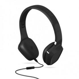 AURICULAR ENERGY HEARPHONES 1 BLACK CONTROL TALK MICROFONO 428144