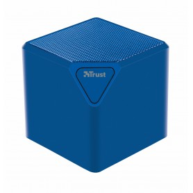 ALTAVOCES  TRUST BLUETOOTH WIRLESS MINI ZIVA CUBO 6W BLUE 21716
