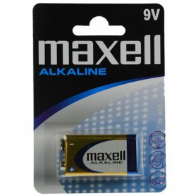 PILA ALCALINA MAXELL BL.1 LR09 9V