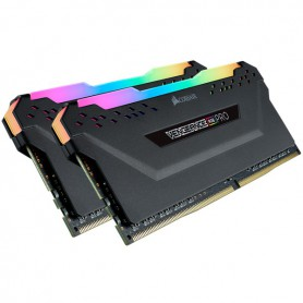 MEMORIA RAM KIT DDR4 16GB(2X8GB) PC4-28800 3600MHZ CORSAIR VENGEANCE RGB PRO