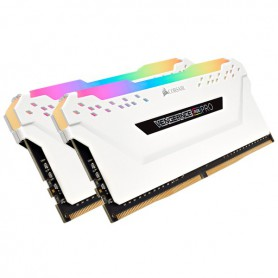 MEMORIA RAM KIT DDR4 16GB(2X8GB) PC4-28800 3600MHZ CORSAIR VENGEANCE RGB PRO BLA
