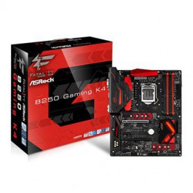 PLACA BASE S1151 ASROCK B250 GAMING K4 DDR4 PCIE SATA3 USB3 DVI HDMI ATX
