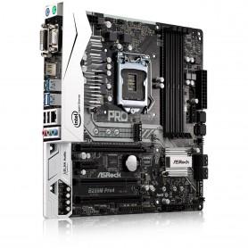 PLACA BASE S1151 ASROCK B250M PRO4 DDR4 PCIE SATA3 USB3 DVI-D HDMI M-ATX