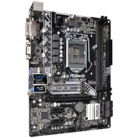 PLACA BASE S1151 ASROCK B250M-HDV DDR4 PCIE SATA3 USB3 DVI-D HDMI M-ATX