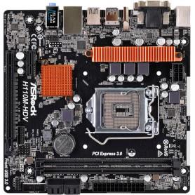 PLACA BASE S1151 ASROCK H110M-HDV R3.0 DDR4 PCIE SATA3 USB3 DVI HDMI M-ATX