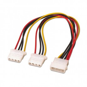CABLE ALIMENTACION MOLEX 5.25PM-2X5.25PH 30CM OEM NANOCABLE 10.19.0402-OEM