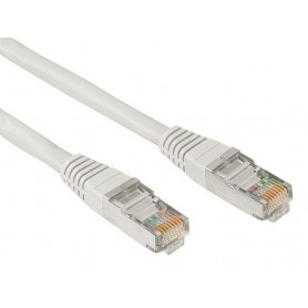 CABLE RED LATIGUILLO RJ45 CAT.5E UTP AWG24 0.5 M NANOCABLE 10.20.0100