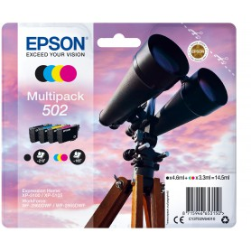 TINTA EPSON 502 ORI MULTIPACK 4COLORES BKCMY