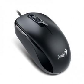 RATON GENIUS PS2  SCROLL BLACK DX-110
