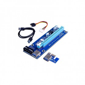 RISER CARD RS006 PCI-E-USB3.1 ADAPTER 4PIN MOLEX