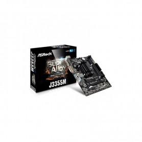 PLACA BASE ASROCK J3355M CPU INTEL DC J3355 VGA 2DRR3 5USB3 PCIE HDMI MATX