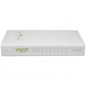 SWITCH D-LINK  8P DGS-1008D 101001000 SOHO
