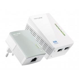 POWERLINE TP-LINK 300MBPS WIFI 2PETH (KIT TL-WPA4220TL-PA4010) TL-WPA4220KIT