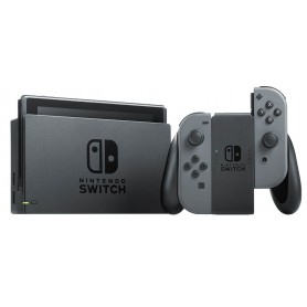 CONSOLA NINTENDO SWITCH GREY CONSOLA BASE 2MANDOS JOY-CON