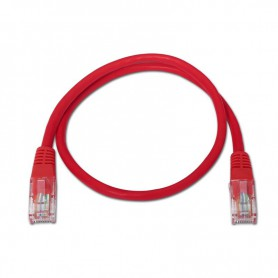 CABLE RED LATIGUILLO RJ45 CAT.5E UTP AWG24 ROJO 3.0 M NANOCABLE 10.20.0103-R