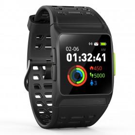 RELOJ SMARTWATCH LEOTEC  TRAINING GPS TOTAL HEART NEGRO ANDIOS LESW12K