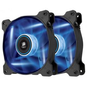 VENTILADOR CAJA ADICIONAL 12X12 CORSAIR AF120 LED AZUL PACK 2UD CO-9050016-BLED
