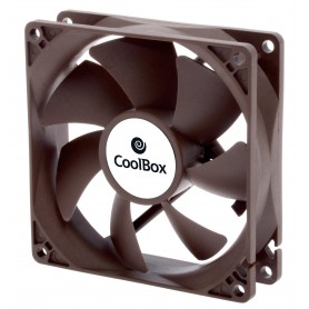 VENTILADOR CAJA ADICIONAL  9X9 COOLBOX 90MM 3-PIN 1600RPM COO-VAU090-3