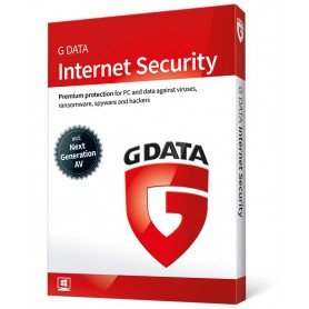 SOFTWARE ANTIVIRUS GDATA 2018 INTENET SECURITY 1 PC 12 MESES