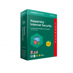 SOFTWARE ANTIVIRUS KASPERSKY 2018 INTERNET SECURITY MULTIDEVICE 10 LICENCIAS