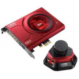 TARJETA DE SONIDO CREATIVE SOUND BLASTER ZX MICROFONO PCI-EX