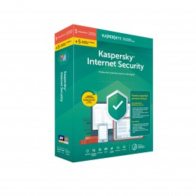 SOFTWARE ANTIVIRUS KASPERSKY 2019 INTERNET SECURITY MULTIDEVICE 10 LICENCIAS