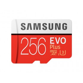 MEMORIA  SECURE DIGITAL MICRO SDHC 256GB SAMSUNG EVO PLUS CLASE10 MB-MC256GAEU