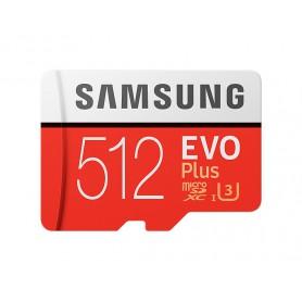MEMORIA  SECURE DIGITAL MICRO SDHC 512GB SAMSUNG EVO PLUS CLASE10 MB-MC512GAEU